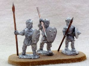 MUF28 Andalusian un-armoured spearmen